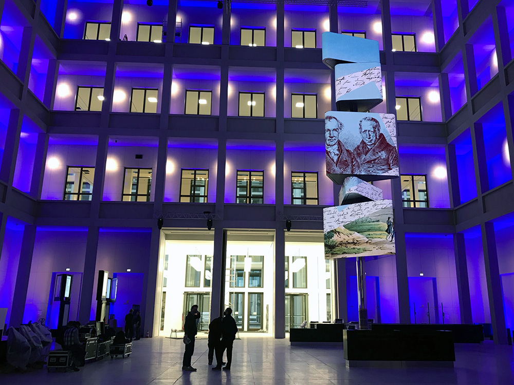 Humboldt Forum Kosmograf